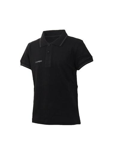 Tryon Tryon Çocuk Polo T-Shirt Beta Jr Siyah
